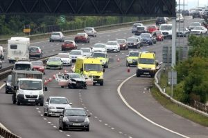 traffic chaos after collision on a27 in portsmouth