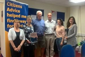 volunteers donate 303336 worth of time to citizens advice gosport