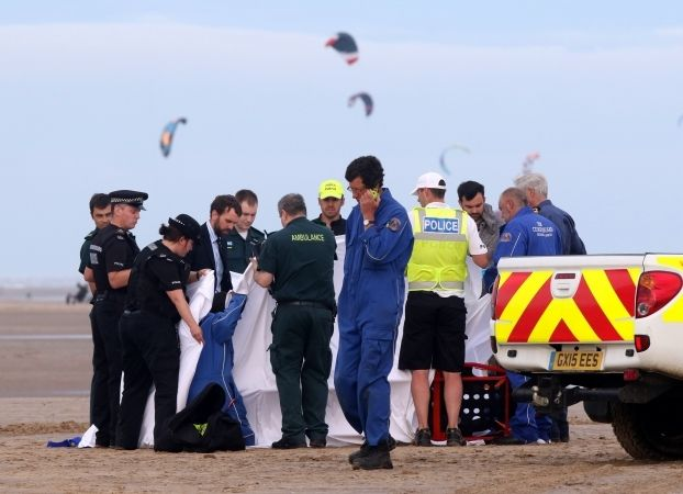 Man's Body Recovered From Beach After Being Swept Out To Sea With Two Other Men Left Fighting For Their Lives