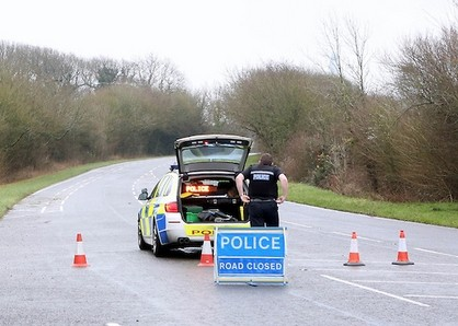 motorcyclist dies after fatal crash near corhampton