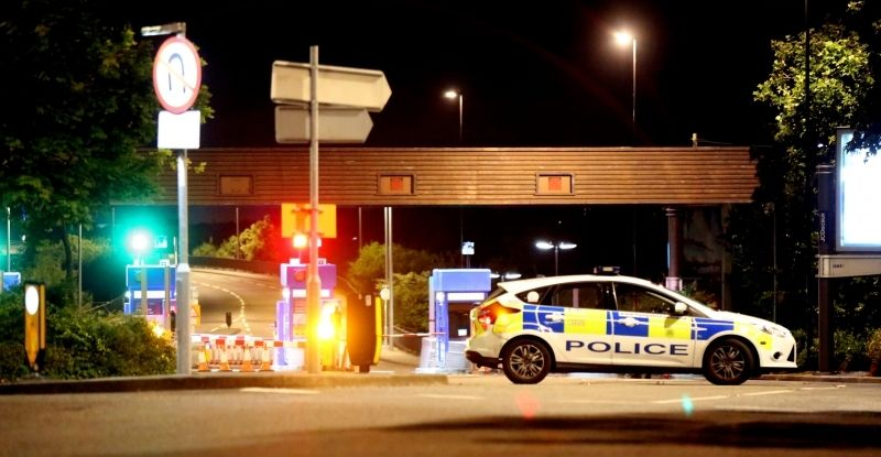 police close itchen bridge following serious incident