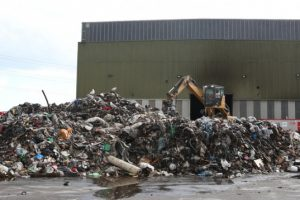 fire now out at biffa recycling centre as mass clear up takes place