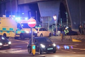motorcycle collision on market quay in fareham