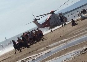 three pulled from water at camber sands