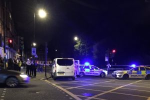 woman killed and five injured after possibly terror attack in london