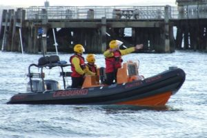 11 year old boy rescued by portsea lifeboat after clinging to eastney pier