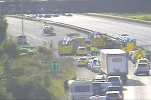 traffic chaos as police close a27 following serious crash