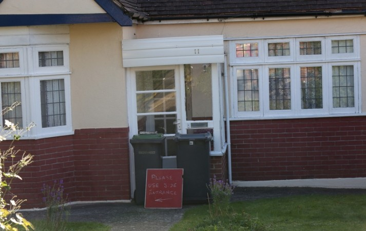 4 x 4 Ploughs into House in Waterlooville, UKNIP