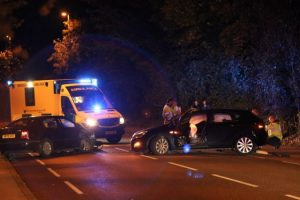 a32 closed after two vehicle collision in gosport