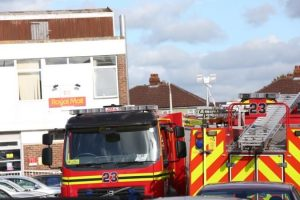 emergency crews called to gosport sorting office