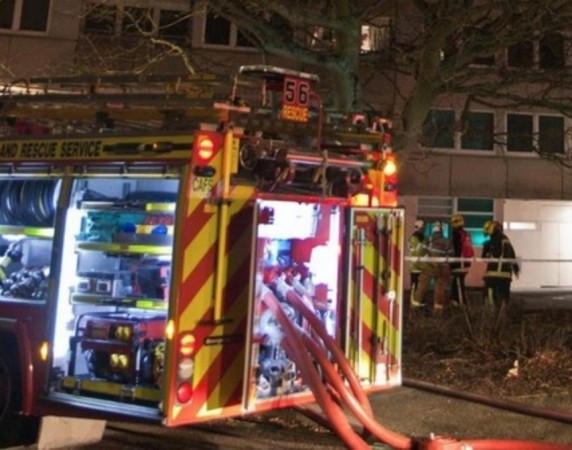 Fire Breaks Out In High Rise Tower Block In Southampton