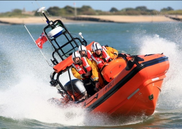 late night lifeboat launched proved to be hoax on hayling island