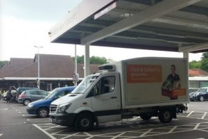 man exposes him to youngester in sainsburys supermarket car park winchester