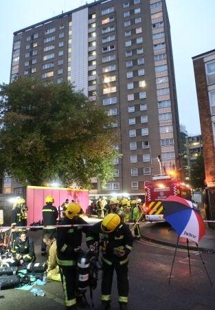 man remanded after arson attack at city block of flats