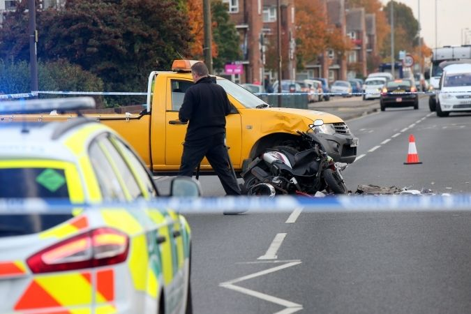 motorcyclist killed in fatal eastern road collision