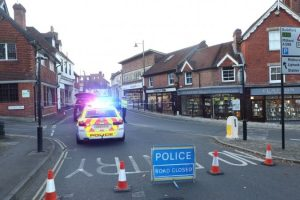 oap airlifted to hospital after being hit by car in haslemere