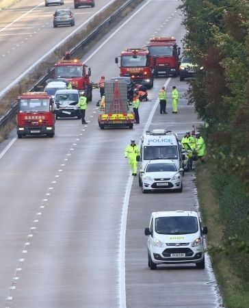 Police Appeal After Southampton Man Killed In Fatal Rush Hour Collision On M3 Motorway