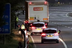 police close m4 eastbound following fatal collision near reading