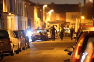 police visit victims after man rampages down portsmouth street