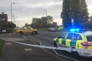 serious collision closes major portsmouth road