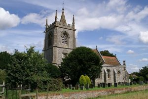 windows smashed at oakley church near basingstoke