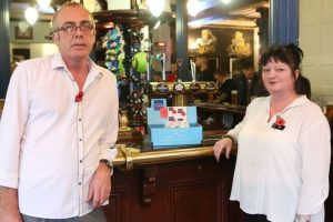 woman should be made to do the walk of shame over poppy box theft from portmsouth pub