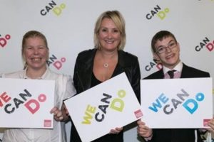 expansion of volunteering is marked by gosport mp caroline dinenage