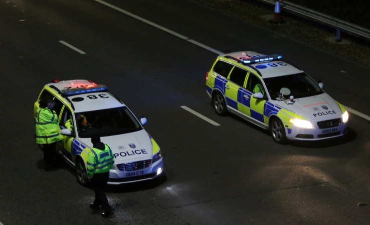 m4 westbound between j11 and j12 closed following collision