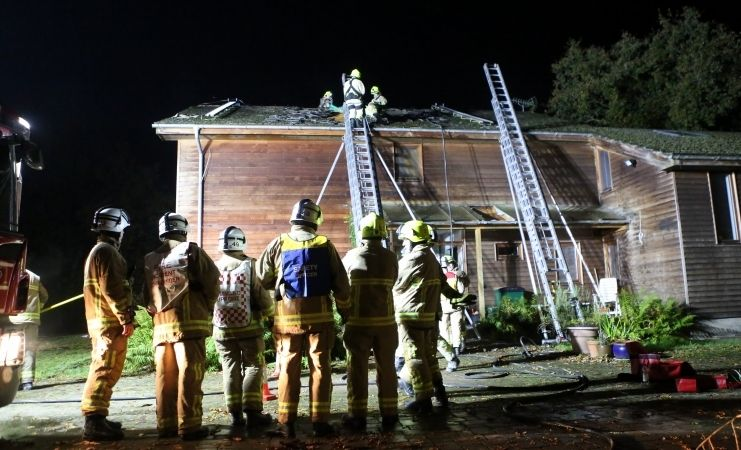 million pound property owners praise fire crews for efforts