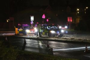 police close a33 basingstoke road near abbots worthy following serious collision