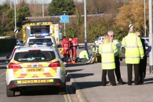 police close off bridge in hilsea due to serious incident