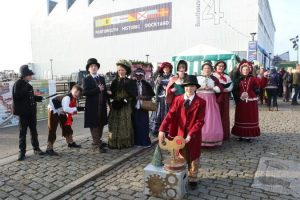 thousand visit portsmouth historic dockyard for victorian festival of christmas