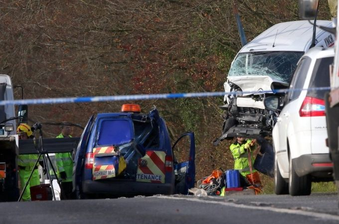 two people dead after fatal head on collision near nether wallop