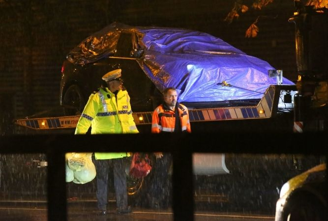 two teenagers killed after being mowed down by black ford hot hatch in aldershot