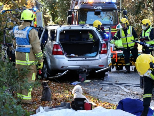 UPDATED: Woman Cut from Vehicle after Four Vehicle Crash in Fareham, UKNIP