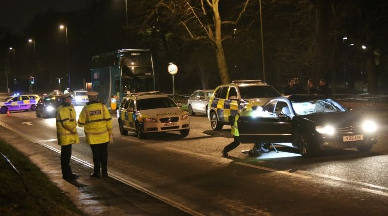 driver arrested after serious collision in southampton