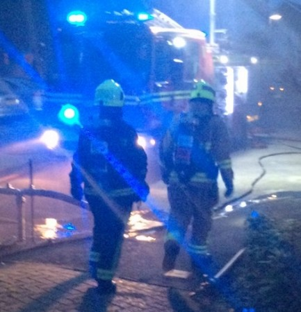 fire crews called to kitchen fire in redbridge southampton