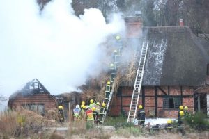 fire rips through multimillionaire tv mogul grade two listed farm house near romsey