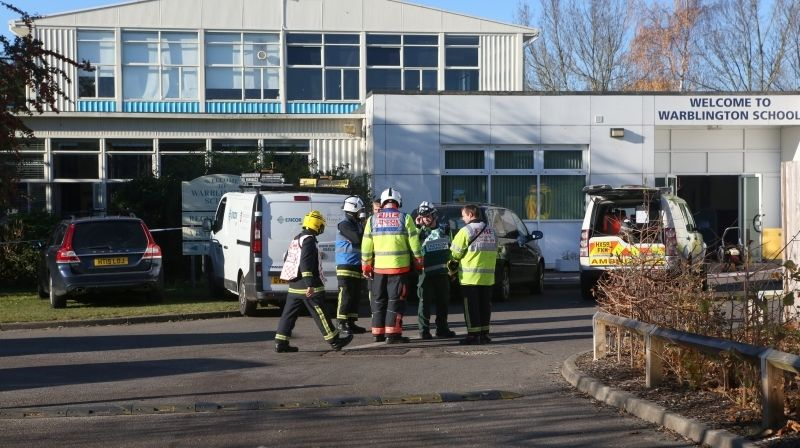 Five People Taken To Hospital Following Chemical Incident At Warblington School In Havant