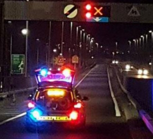 M1 Motorway Horror Crash Leaves Four People Fighting For Their Lives