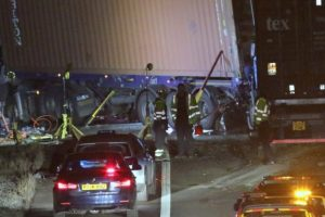 m271 horror crash lorry driver jailed for 6 years by southampton crown court