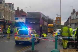 major reading road closed following serious collision