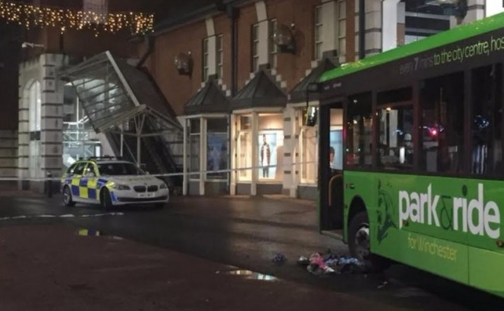 Man Fighting For His Life  After Bus Collision In Winchester