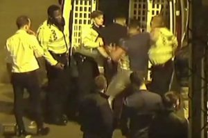 man jailed after smashing police officers jaw