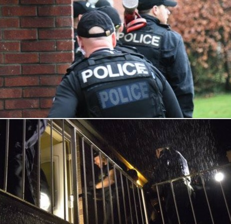 police raid thirteen addresses in gosport and four in portsmouth for drugs