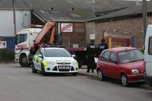 police seal off portsmouth industrial estate after man found dead