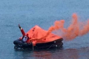 portsmouth lifeboat answers santa call of distress