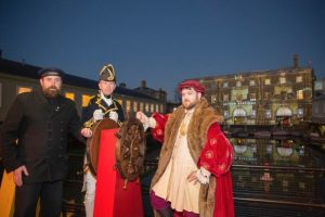 spectacular illuminations show is set to transform portsmouth historic dockyard