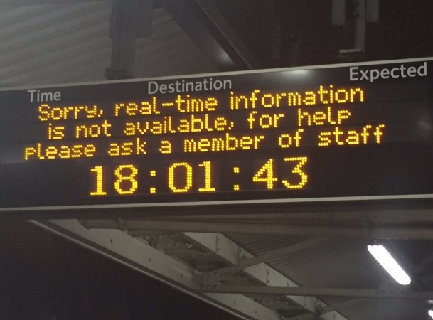 Trains Badly Disrupted As Person Is Hit By Train On Southcoast To London Line
