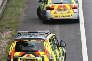 m3 motorway southbound lanes closed following collision